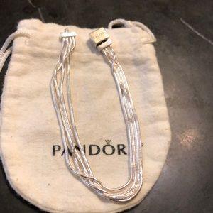 Pandora strand bracelet used condition